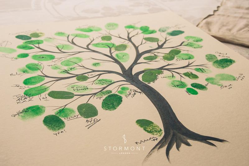 wedding decoration ideas suffolk vintage wedding country wedding finger print tree