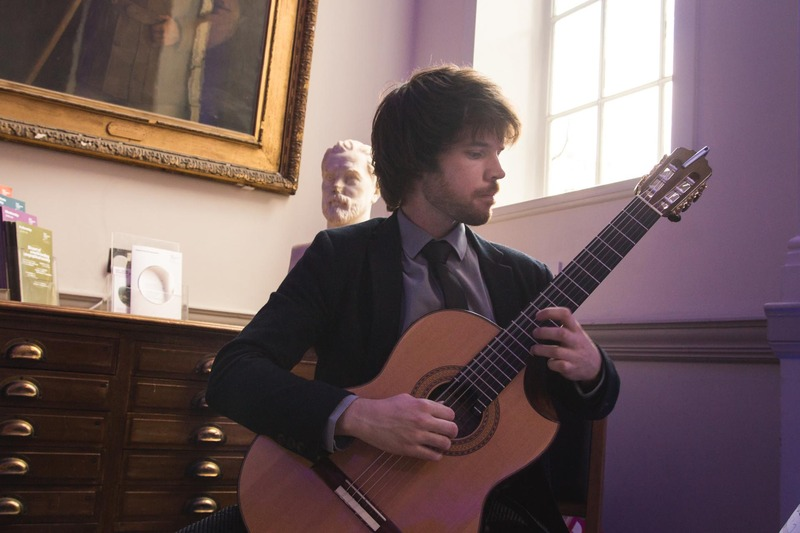 Fabian Dominic guitarist Royal Geographical Society Nation Geographic Declan Zapala Stormont London
