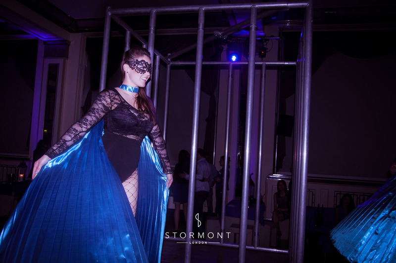 Stormont London event entertainment the mansion london blue party party entertainment stilt walkers london